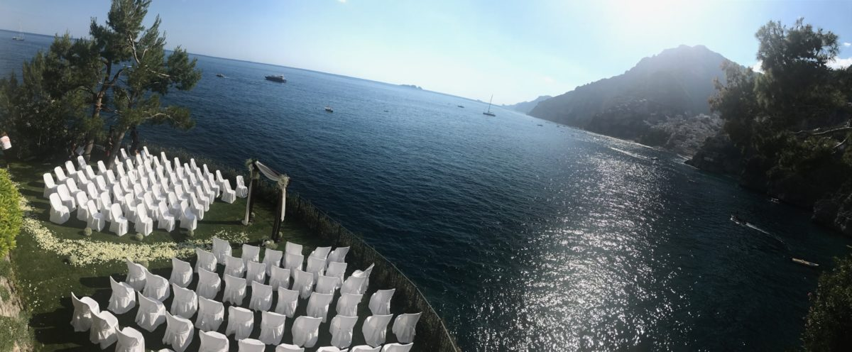 Day 3 - seaside wedding ceremony