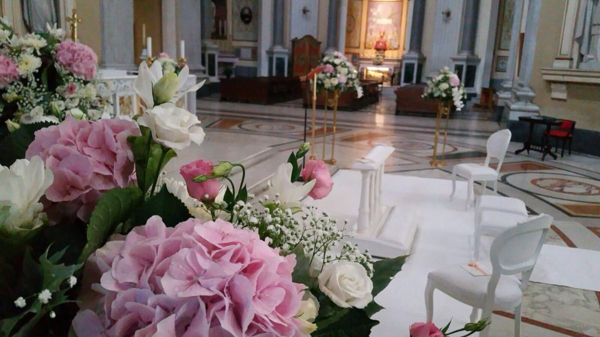 Domenico and Maria - Wedding Amalfi flowers decoration