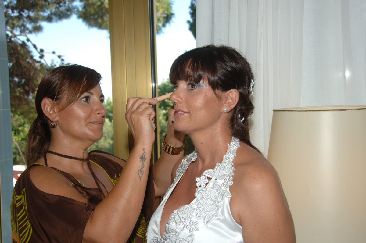 Enza and Mario - bridal makeup