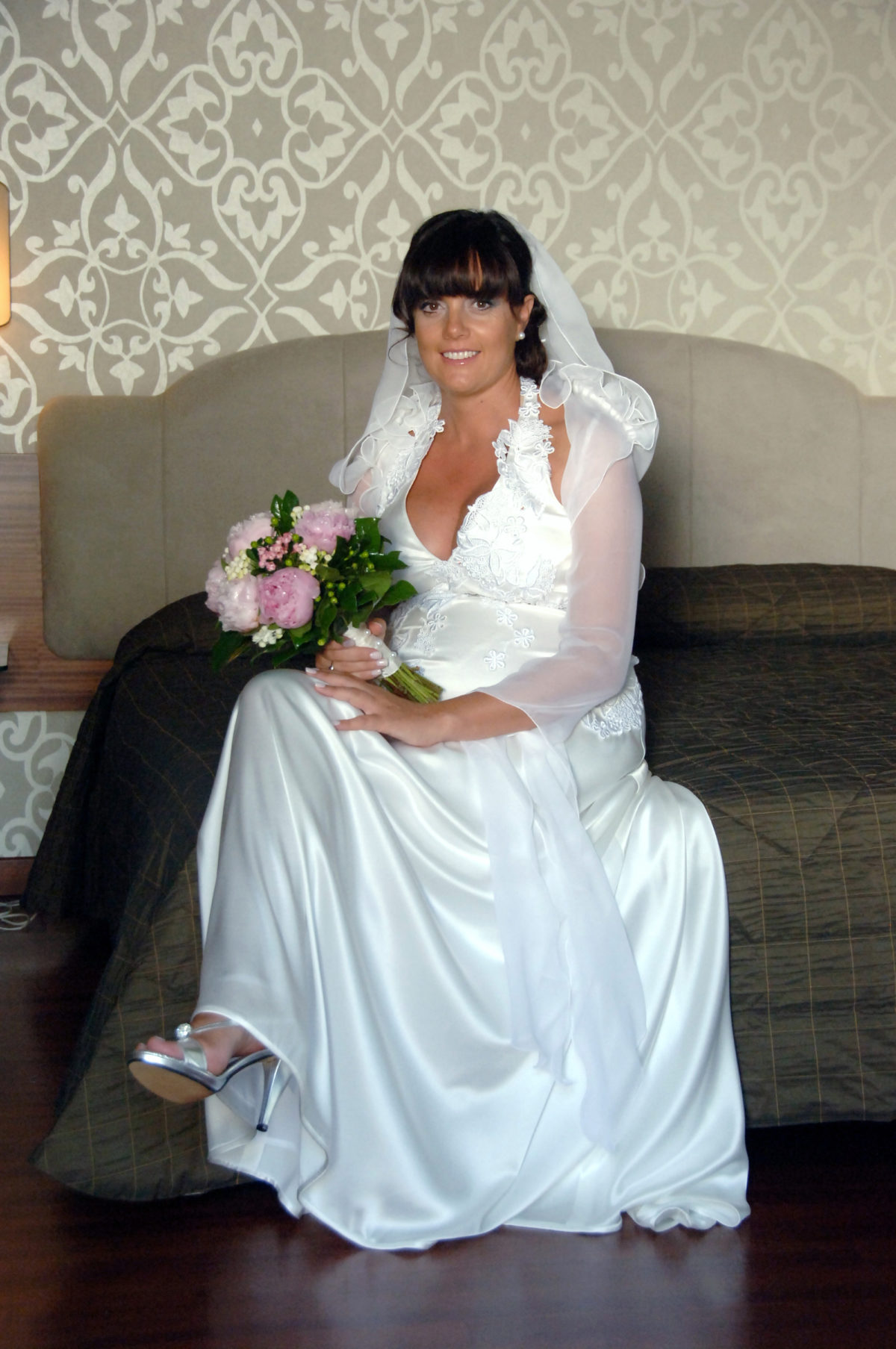 Enza and Mario - the bride is ready