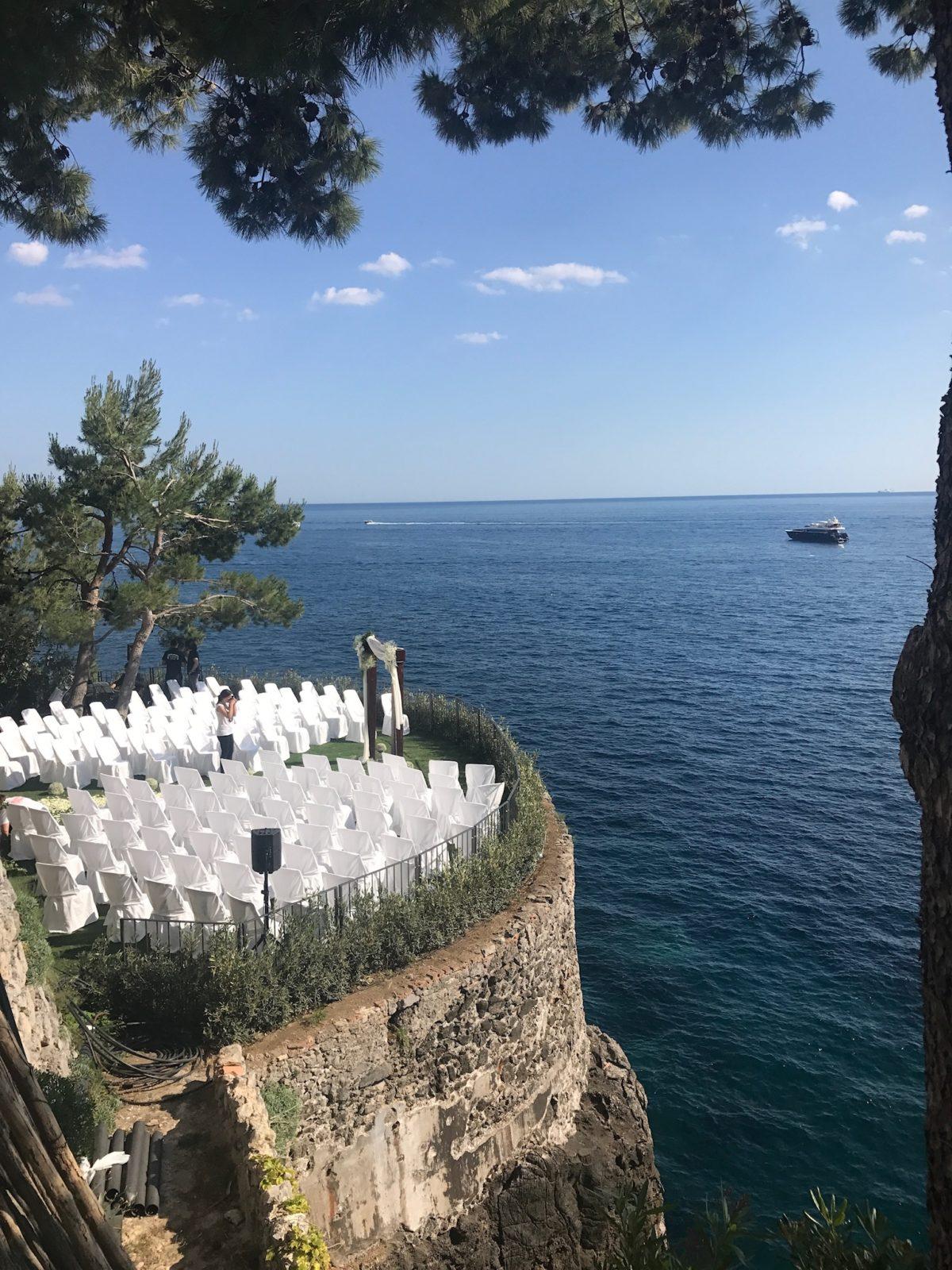 Nathalie and Benjamin Wedding in Positano Italy (1)