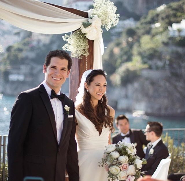 Nathalie and Benjamin wedding day in Positano (1)