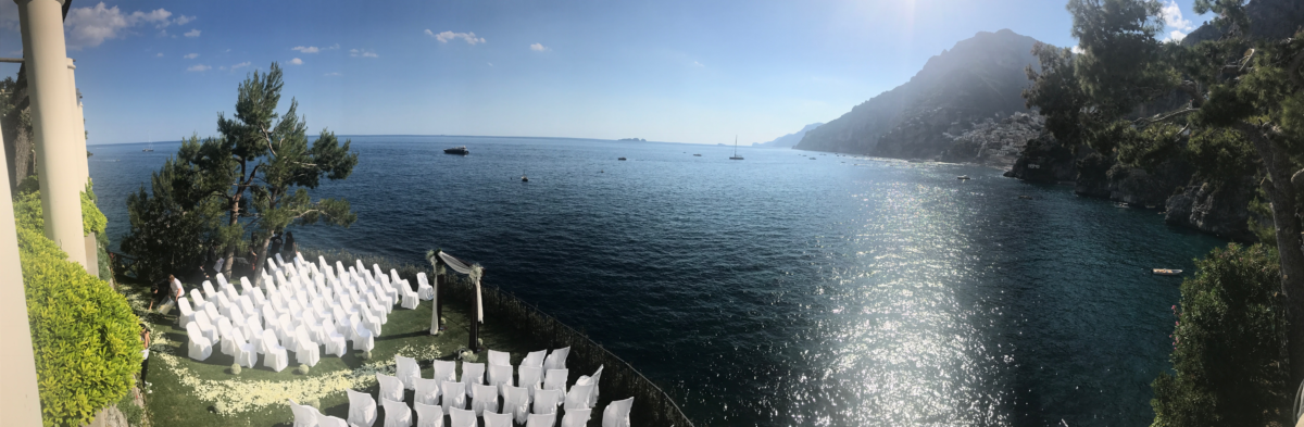Nathalie and Benjamin wedding in Positano (1)