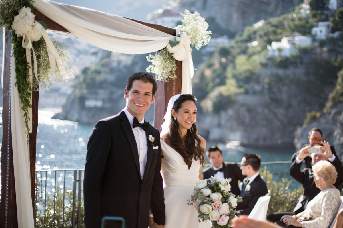 Nathalie and Benjamin wedding in Positano (8)