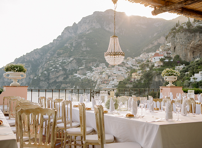 Villa Treville Wedding in Positano, Italy