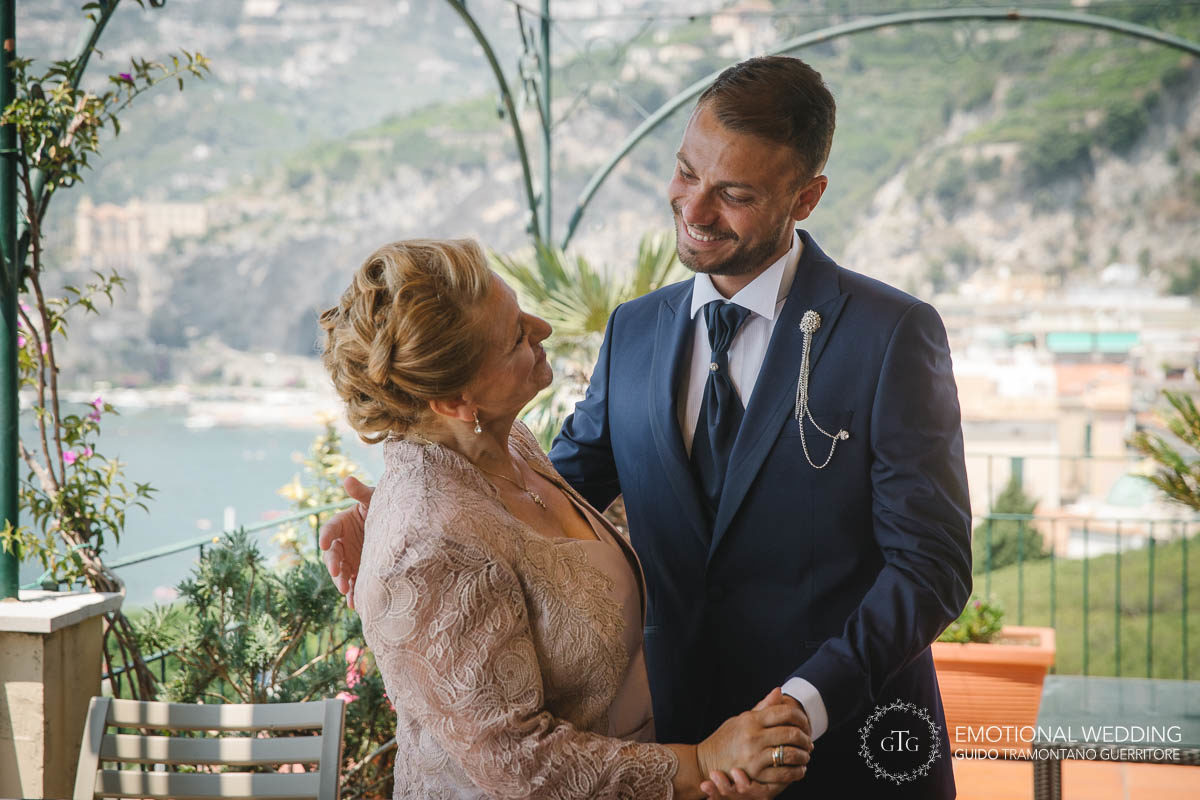 Stefania and Alessandro Wedding in Amalfi (1)