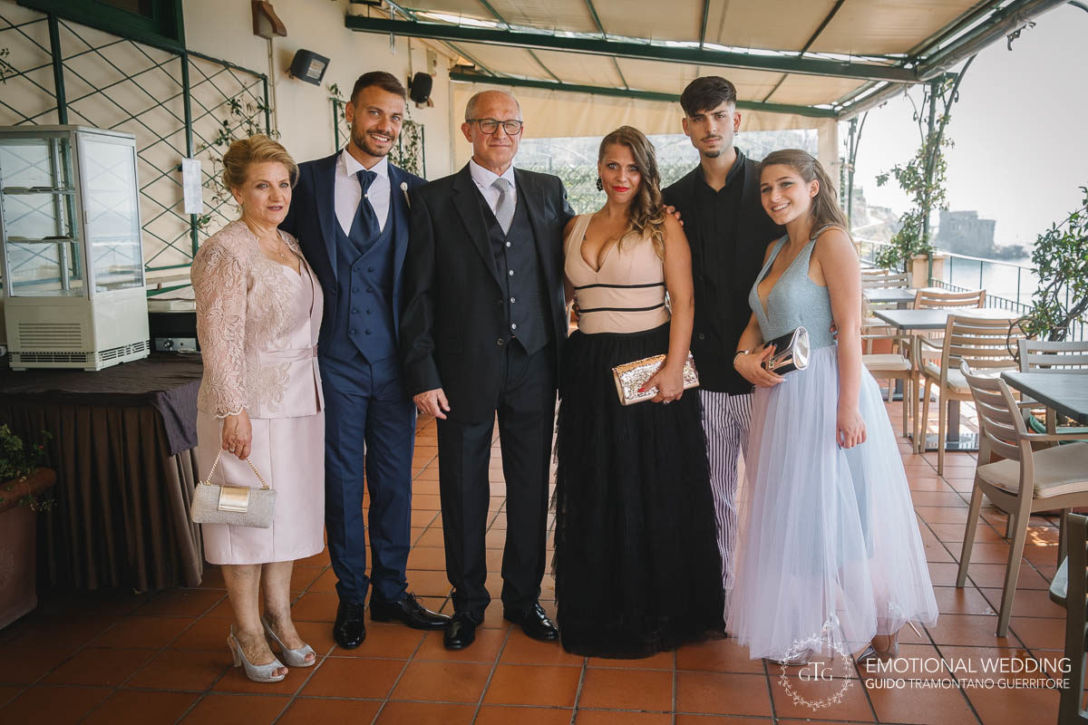 Stefania and Alessandro Wedding in Amalfi (2)