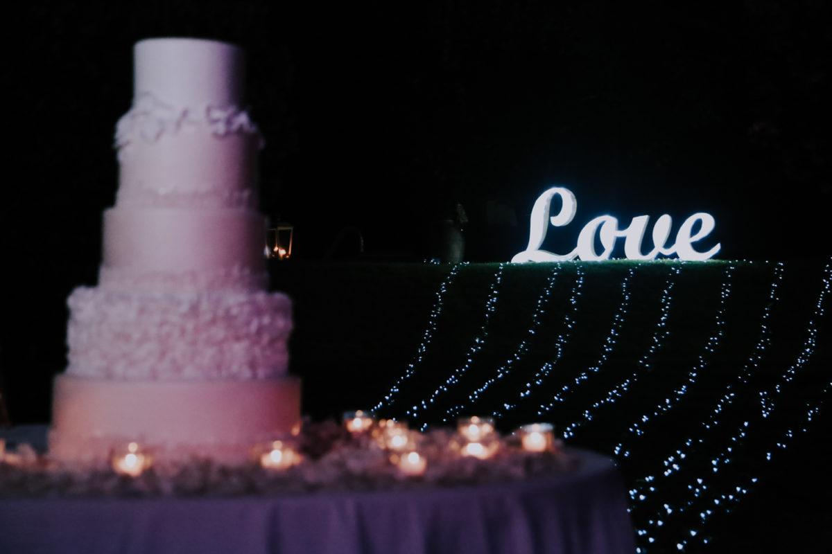 Alessandro and Diego - wedding cake