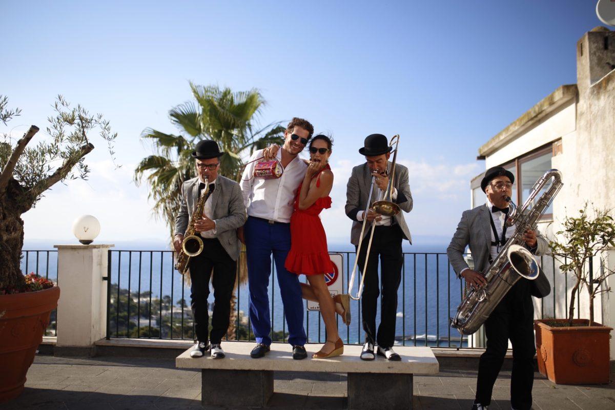 Day 2 - nathalie and banjamin in Capri