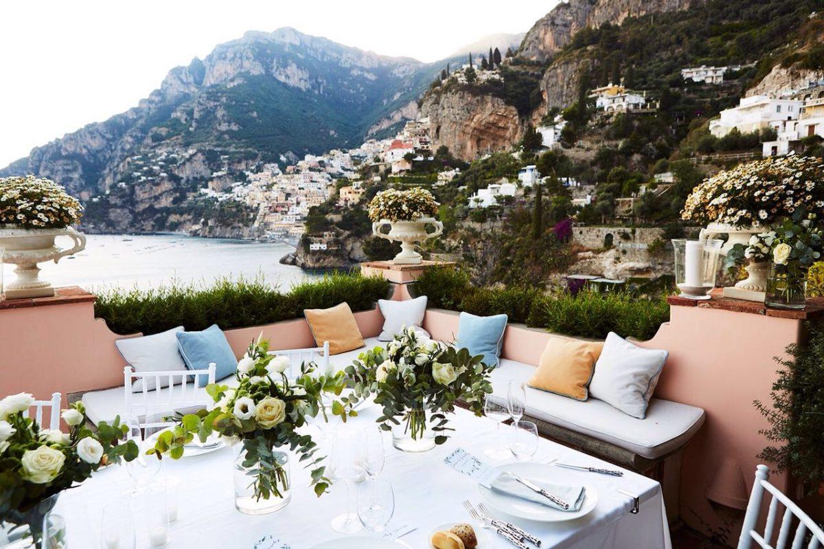 Laura and Jarrod wedding location in Positano Amalfi Coast