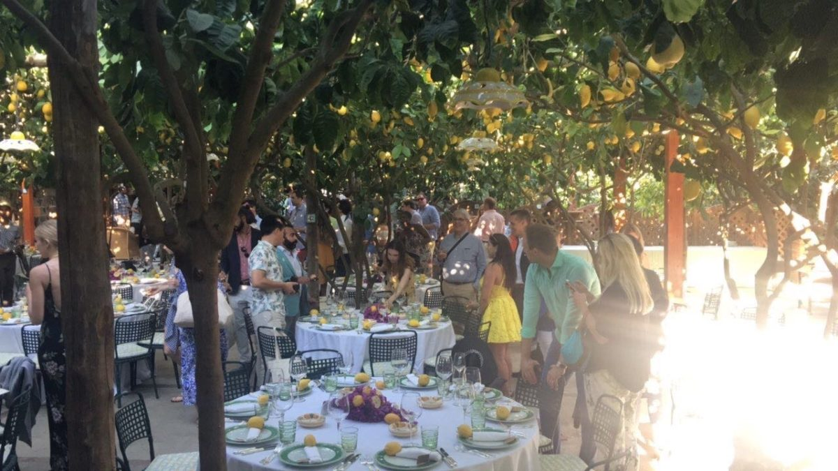 Nathalie and Benjamin wedding in Positano (10)